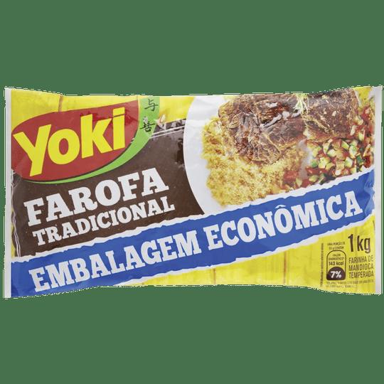 FAROFA YOKI TRADICIONAL 1KG