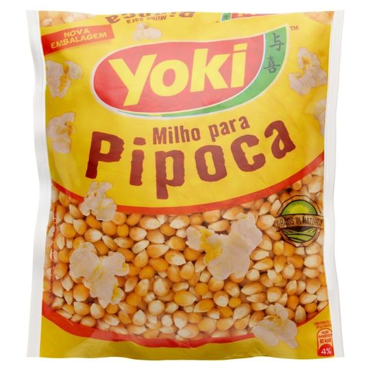 MILHO PARA PIPOCA YOKI 500GR