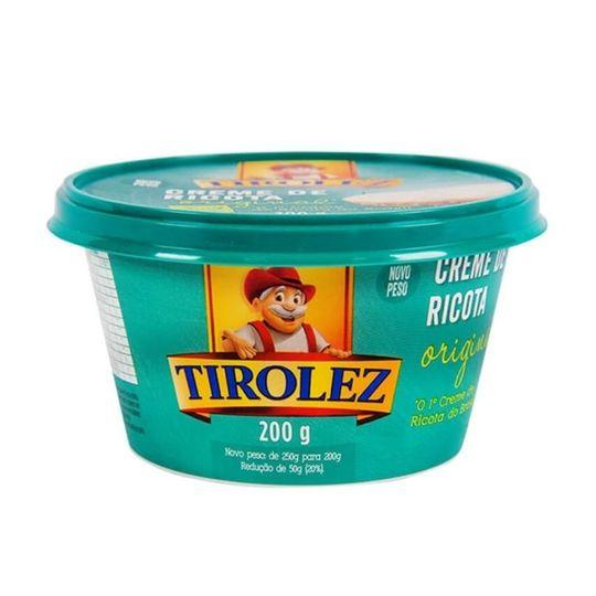 CREME DE RICOTA TIROLEZ 200G